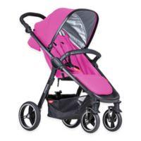 phil&teds® Smart™ Stroller in Raspberry