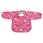 green sprouts® Size 1-2 Years Long Sleeve Waterproof Bib in Pink Wildflowers