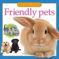 """Feels Real! Friendly Pets"" Board Book"
