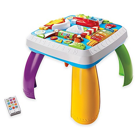 Fisher price laugh learn around the town learning table buybuy baby - Table activite fisher price ...