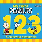 """My First Peanuts: 1,2,3"" Board Book"