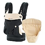 Ergobaby™ 2016 Four-Position 360 Carrier Bundle of Joy Baby Carrier in Black/Camel