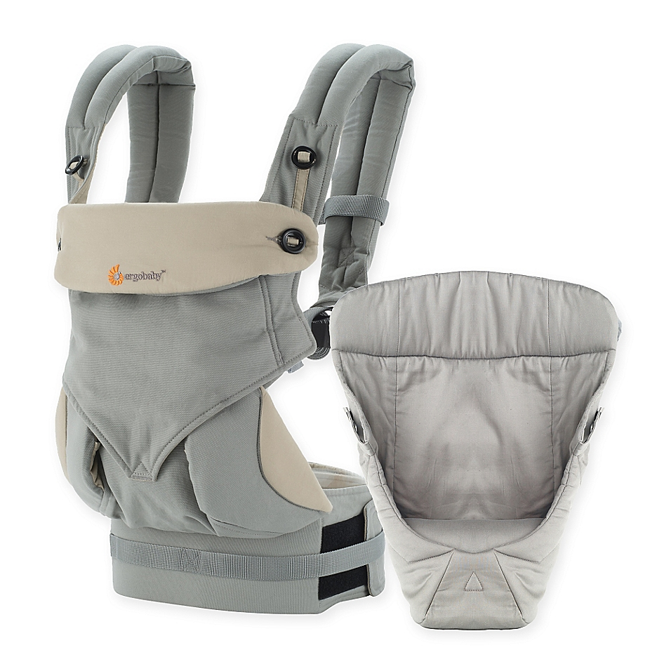 Ergobaby™ 2016 Four-Position 360 Carrier Bundle of Joy Baby Carrier in Grey
