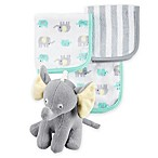carter's® Elephant Bath Toy and 3-Pack Washcloth Set
