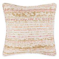 Surya Lapwai 20-Inch Square Throw Pillow in Poppy