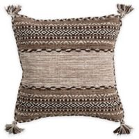 Surya Ganale 20-Inch Square Throw Pillow in Taupe
