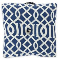Surya Soli 22-Inch Square Throw Pillow in Blue