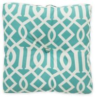 Surya Soli 22-Inch Square Throw Pillow in Teal