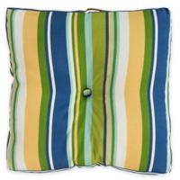 Surya Caledonia 22-Inch Square Throw Pillow in Cobalt