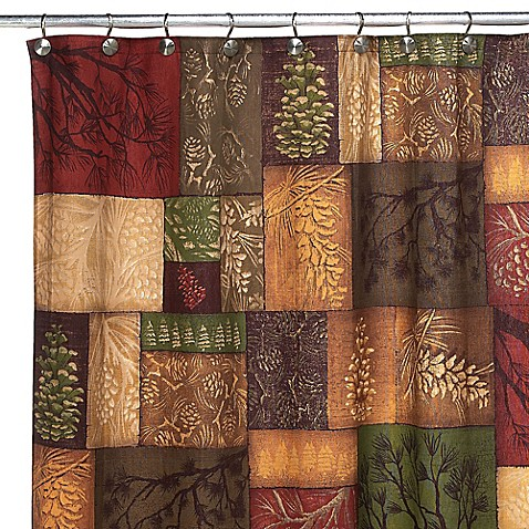 Avanti Adirondack Pine Shower Curtain Bed Bath Amp Beyond