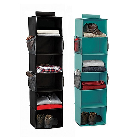 Studio 3b 6 Shelf Hanging Sweater Organizer Bed Bath