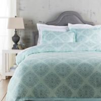 Surya Anniston Twin Duvet Cover in Sky Blue