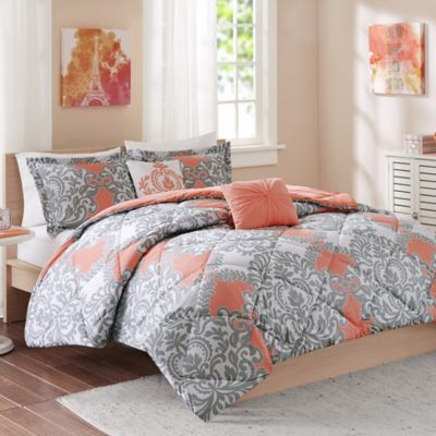 buy coral comforter sets from bed bath amp beyond