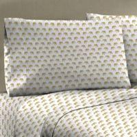 Mix and Match 330-Thread-Count 100% Cotton Sateen Standard Pillowcase