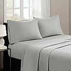 Madison Park 3M Microcell Queen Sheet Set in Grey