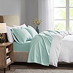 Madison Park 3M Microcell King Sheet Set in Seafoam
