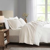 Madison Park 3M Microcell Full Sheet Set in Ivory