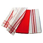 Le Creuset® Kitchen Towels in Cherry (Set of 3)