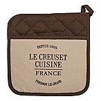 Le Creuset® Heritage Linen Pot Holder in Truffle