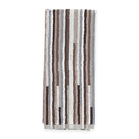 Aria Stripe 2-in-1 Duo Kitchen Towel in Tan - Bed Bath & Beyond on bath rugs jcpenney, bath beyond shop, bath sets bed bath beyond store, bath beyond coupons, bath logo,