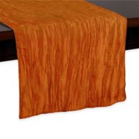 Delano 54-Inch Table Runner in Fire Orange