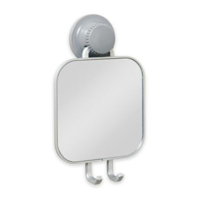 TITAN PowerGrip  NeverRust  Suction Shower Mirror. Buy Fog Free Shaving Mirrors from Bed Bath   Beyond
