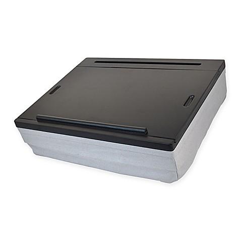 Lap Desk In Black Grey Bed Bath Amp Beyond