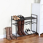 Stackable Boot and Shoe Rack in Bronze