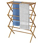 Household Essentials® Bamboo X-Frame Clothes Drying Rack
