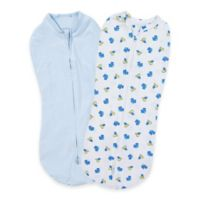 Summer Infant® SwaddleMe® Newborn 2-Pack Dino Swaddle Pods in Blue