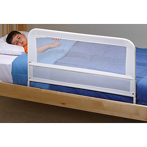 kidco mesh bed rail in white bed bath beyond. Black Bedroom Furniture Sets. Home Design Ideas