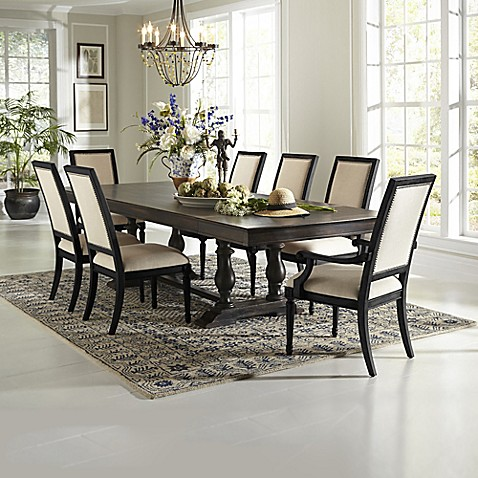 buy pulaski 9 piece montserrat dining table and st raphael chairs set