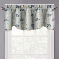 Meadow Window Valance in Blue