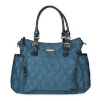 1aeb2a53fe24 Green Frog Baby Sadie Diaper Bag in Turquoise