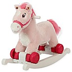 Rockin' Rider Cupcake 2-in-1 Rocking Pony in Pink