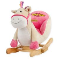Rockin' Rider Giggles Baby Rocker in Pink