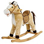 Rockin' Rider Derby Rocking Horse in Beige