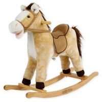 Rockin Rider Derby Rocking Horse In Beige