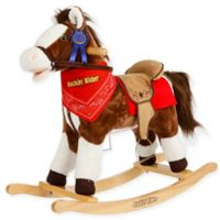 Rockin' Rider Laredo Rocking Horse in Brown