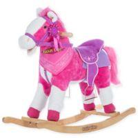 Rockin' Rider Laurel Rocking Horse in Pink