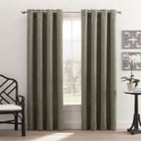 Hyde Park 84-Inch Grommet Top Window Curtain Panel in Seafoam