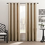 Hyde Park 108-Inch Grommet Top Window Curtain Panel in Cream