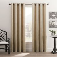 Hyde Park 84-Inch Grommet Top Window Curtain Panel in Cream