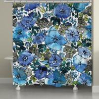 Laural Home® Eclectic Bloom Shower Curtain