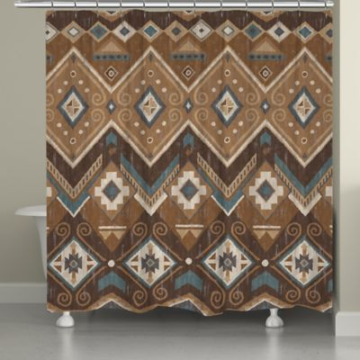 Laural Home® Santa Fe Shower Curtain - Buy Southwestern Shower Curtains From Bed Bath & Beyond