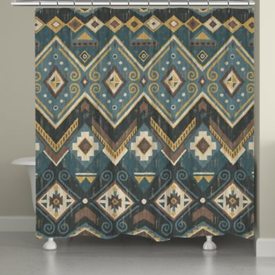 Laural Home® Albuquerque Shower Curtain - Buy Southwestern Shower Curtains From Bed Bath & Beyond