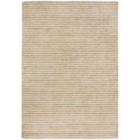 Trans-Ocean 3-Foot 6-Inch x 5-Foot 6-Inch Stripes Indoor/Outdoor Rug in Neutral
