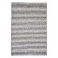Trans-Ocean 5-Foot x 7-Foot 6-Inch Stripes Indoor/Outdoor Rug in Denim