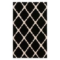 Style Statements by Surya 2-Foot x 3-Foot Masis Indoor/Outdoor Accent Rug in Charcoal