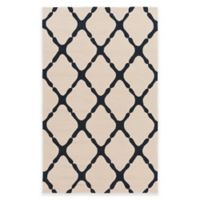 Style Statements by Surya 2-Foot x 3-Foot Masis Indoor/Outdoor Accent Rug in Grey/Navy